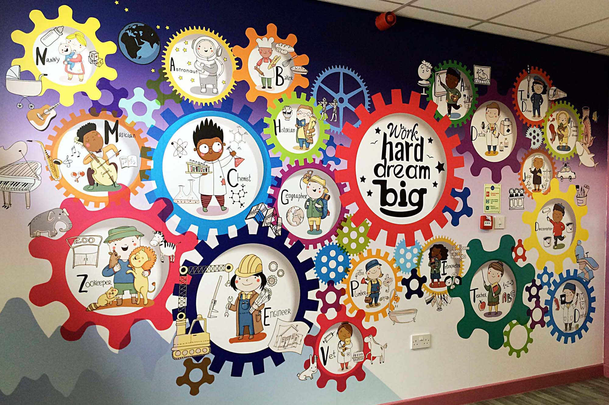 Illustrated Wall Graphics