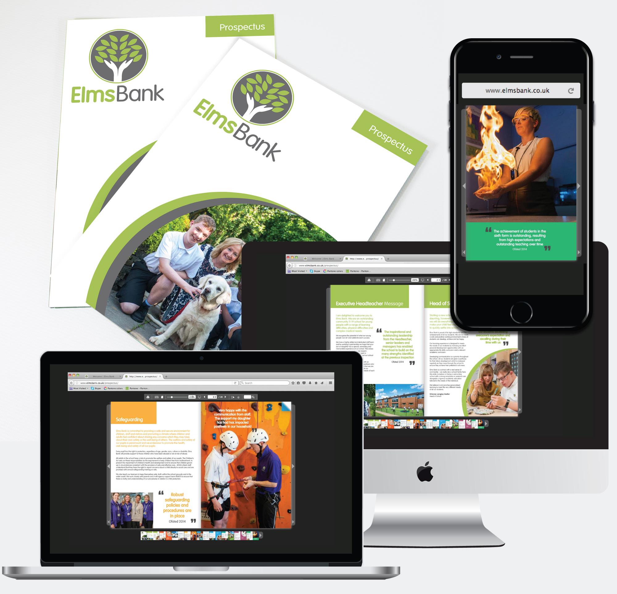 Elms Bank online prospectus & printed prospectus