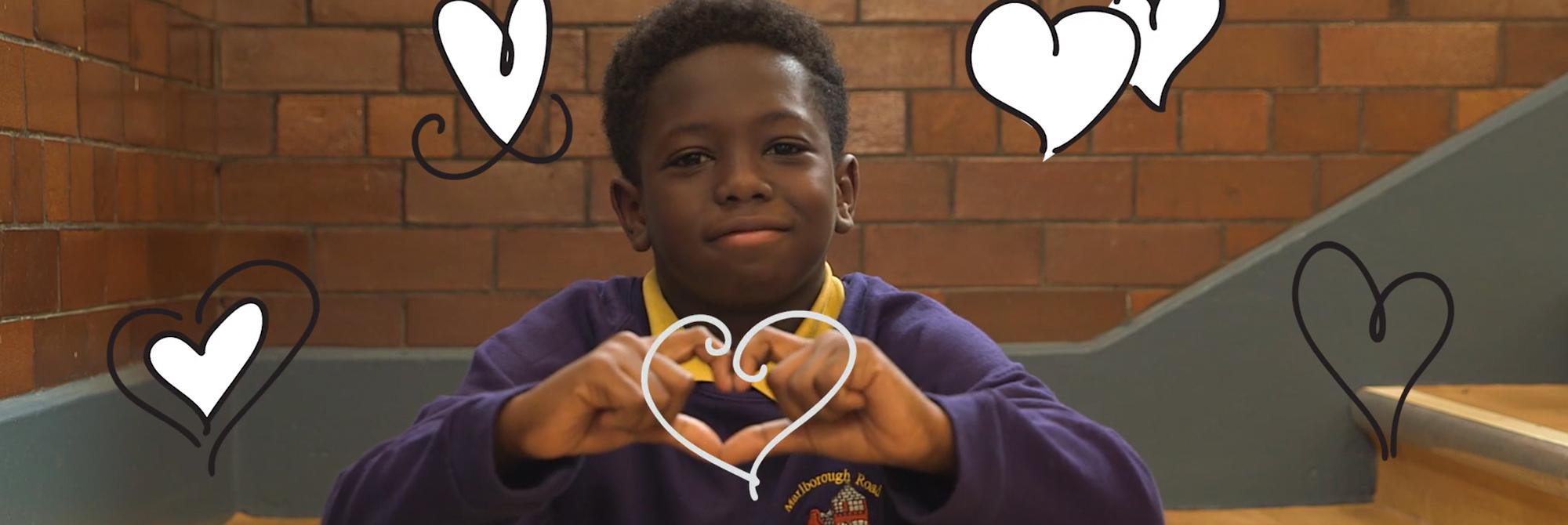 inspiring school video Marlborough Road Academy