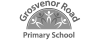 Grosvenor Road Primary School logo