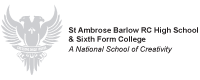St Ambrose Barlow RC High School & Sixth Form College logo