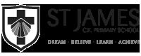 St James CE Primary School logo