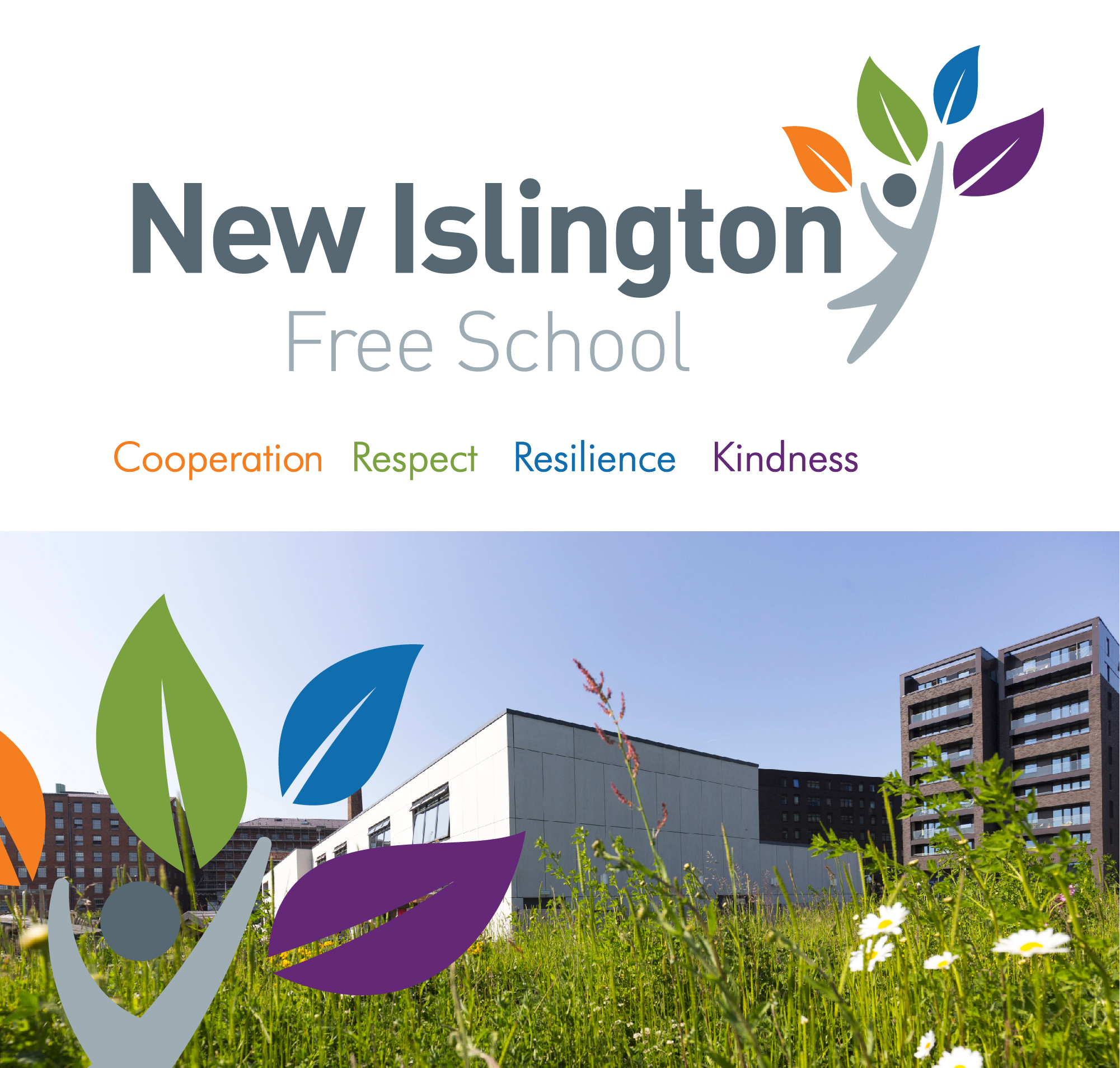 new islington free school brand identity